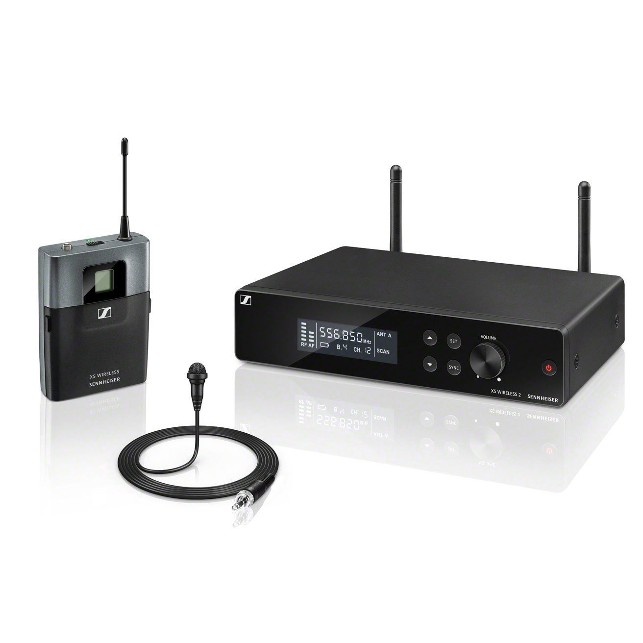 Lavalier Set Wireless System with BP transmitter, A Range Frequency