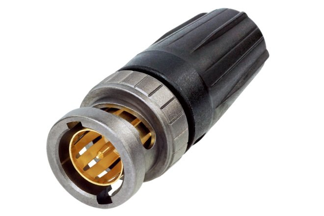 rearTWIST UHD Male BNC Connector
