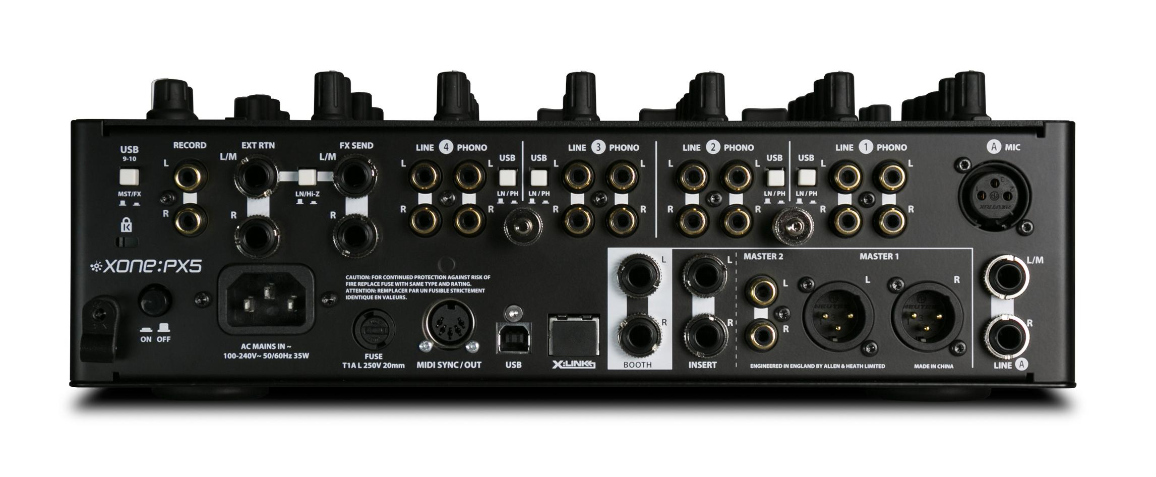 4 Channel DJ Performance Mixer