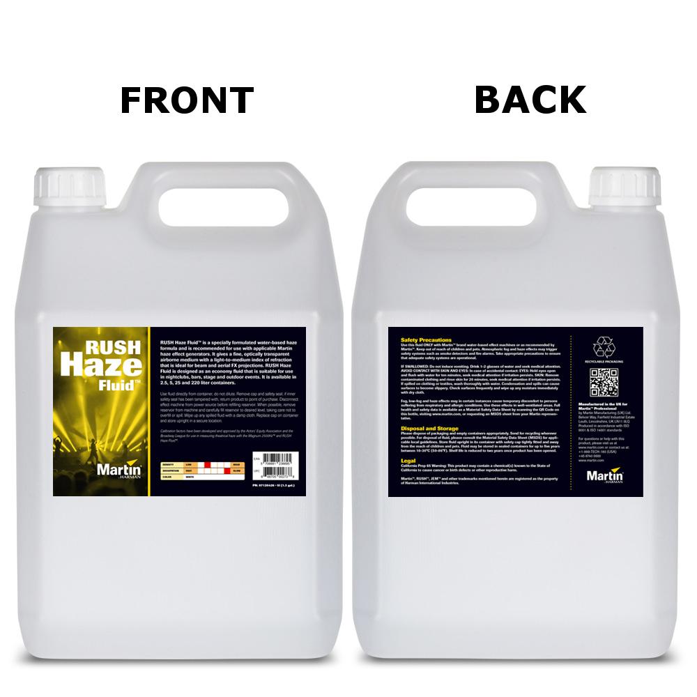 2.5 Liter RUSH Haze Fluid