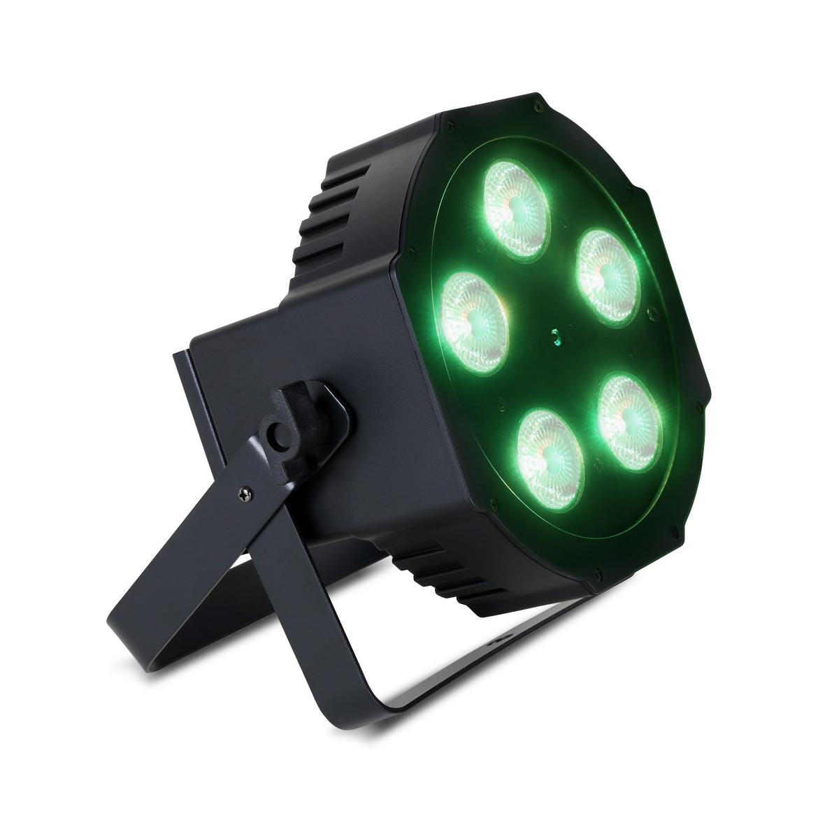 PAR Fixture with 5x 12W RGBAW + UV LEDs