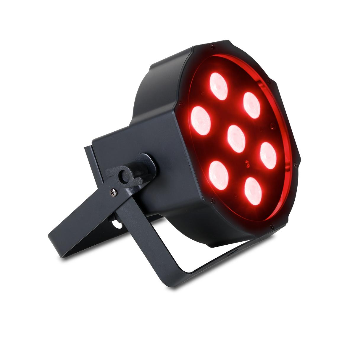 Compact LED RGBWA+UV PAR Fixture