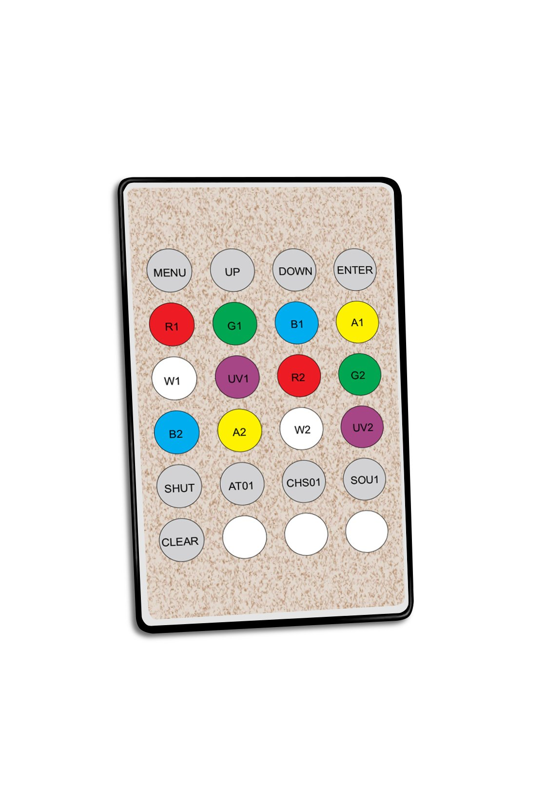 IR Remote Control for AnyFi Wireless DMX Fixtures