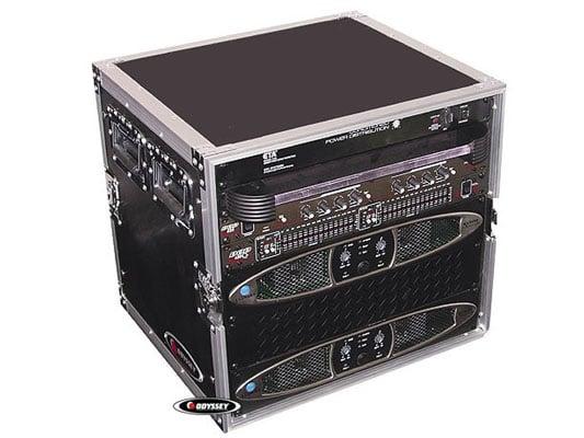 Odyssey FZAR10  10RU Pro Amp Rack Flight Case FZAR10