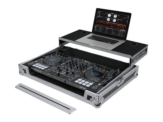 Flight Ready Glide Style Series DJ Controller Case for Denon MC7000
