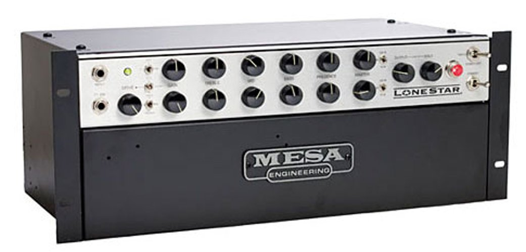 Mesa Boogie Ltd Lone Star Rack 100W Tube Rackmount Guitar Amplifier Head LONESTAR-RM-HEAD
