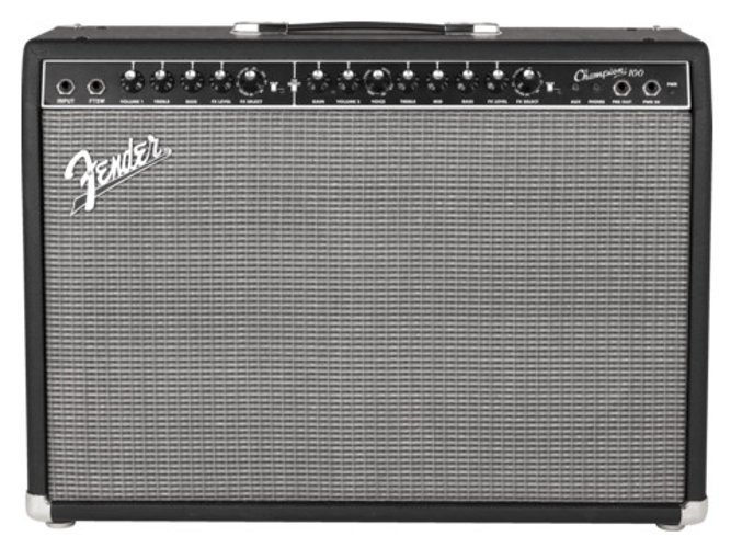 "100W 2-Ch 2x12"" Solid-State Combo Electric Guitar Amplifier"