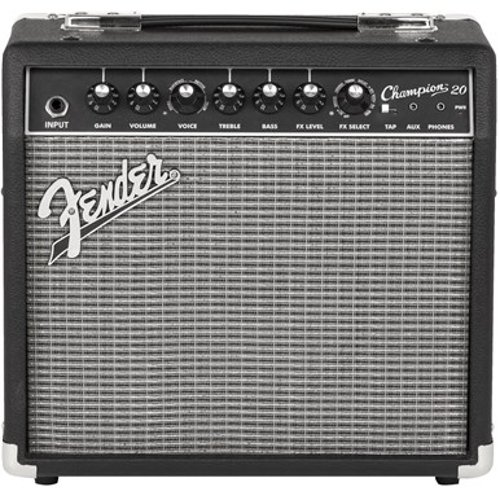 "20W 1x8"" Solid-State Combo Electric Guitar Amplifier"