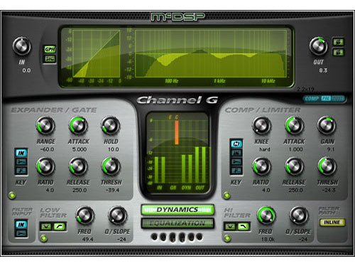 McDSP Channel G Native [EDU STUDENT/FACULTY] Channel Strip Plug-In [DOWNLOAD] CH-G-NATIVE-EDU
