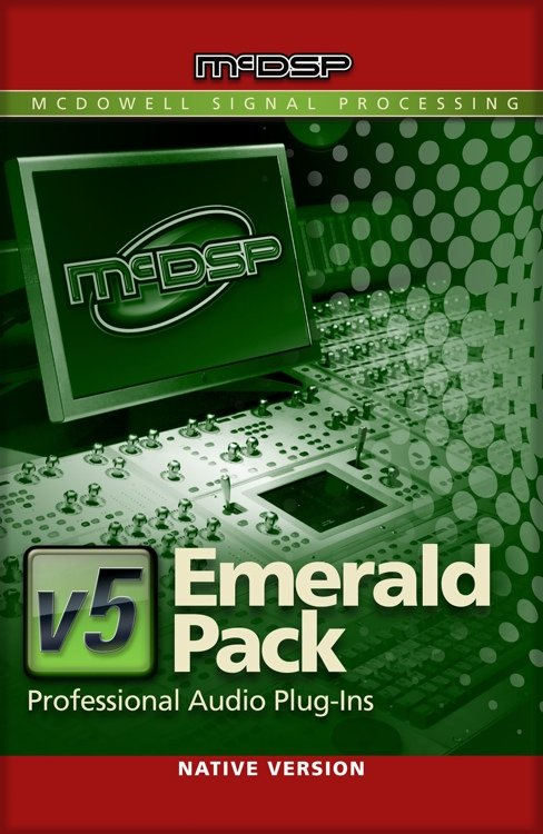 McDSP Emerald Pack Native [EDU STUDENT/FACULTY] Complete Music Production Plugin Bundle [DOWNLOAD] EMERALD-PACK-NAT-EDU