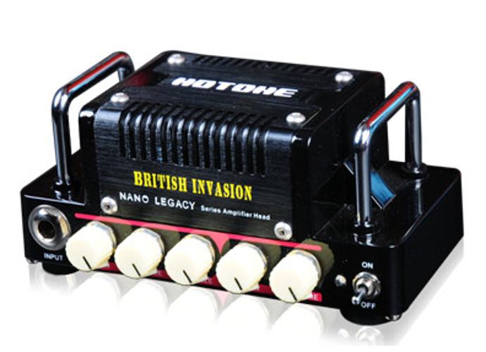 Hotone Nano British Invasion 5W Nano Legacy Series Solid-State Guitar Amplifier Head BRITISH-INVASION