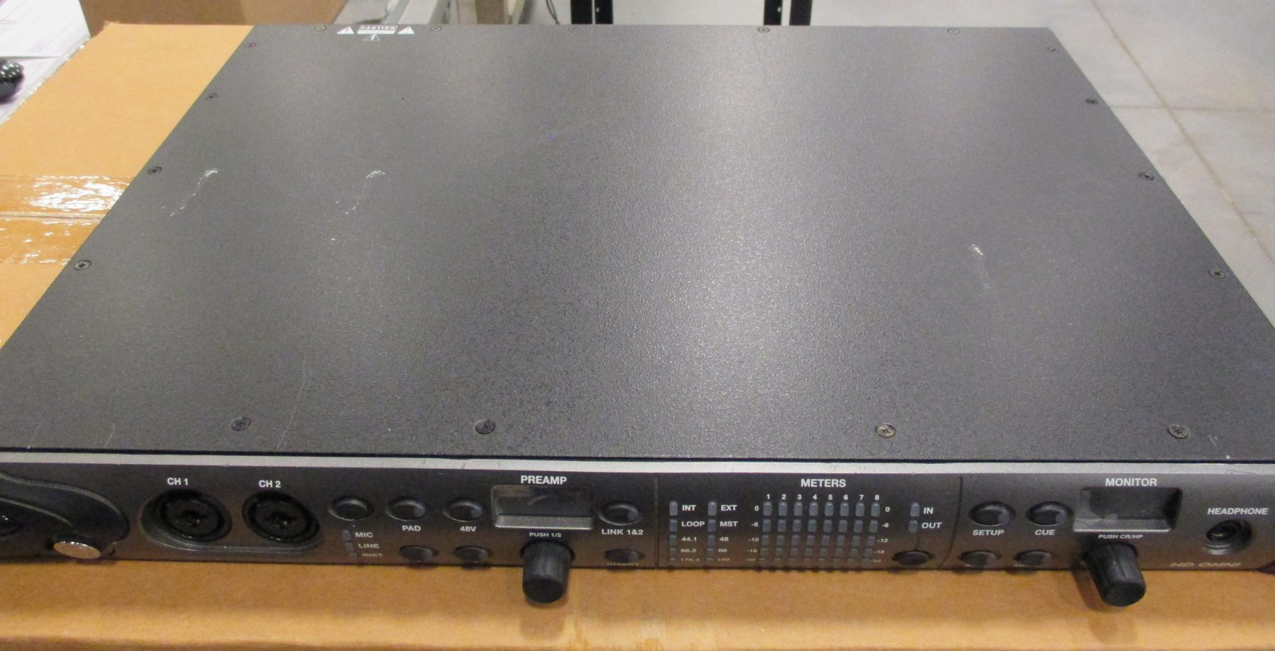 Pro Tools|HD Professional Preamp/I/O/Monitoring Interface