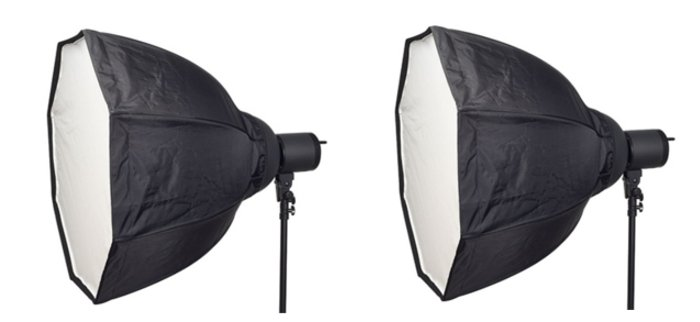 "2 Light Kit with 32"" OctaBox"