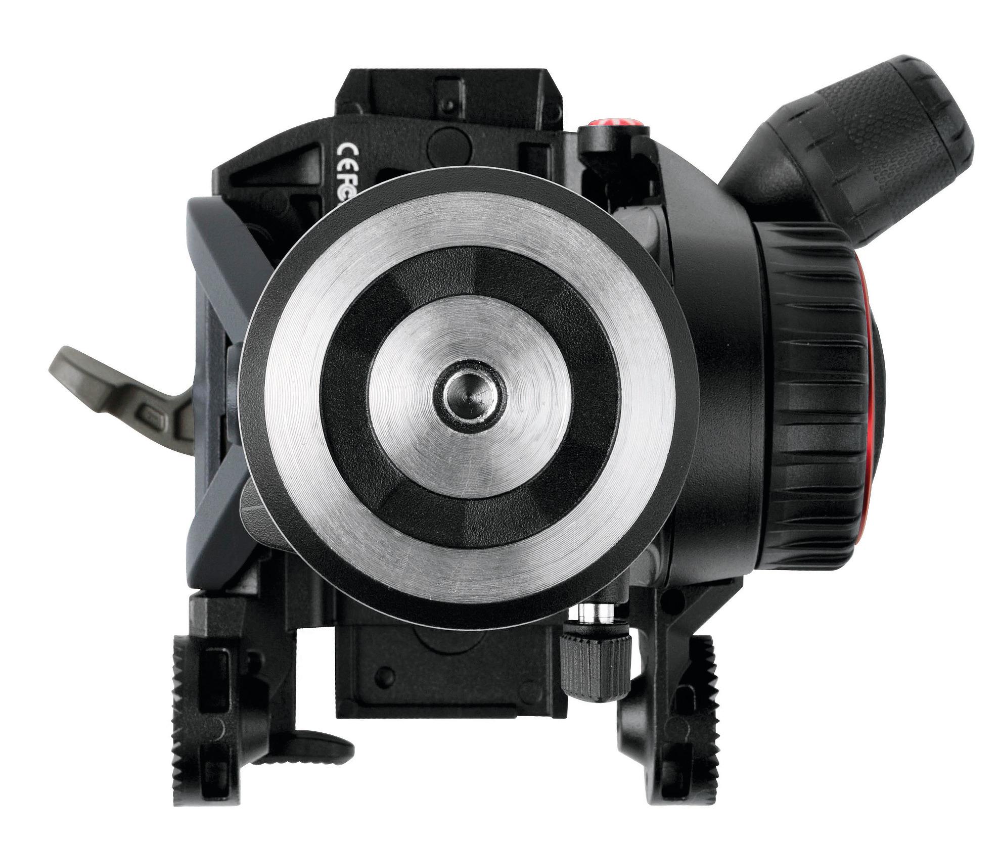 Fluid Video Head with Nitrogen Piston Mechanism