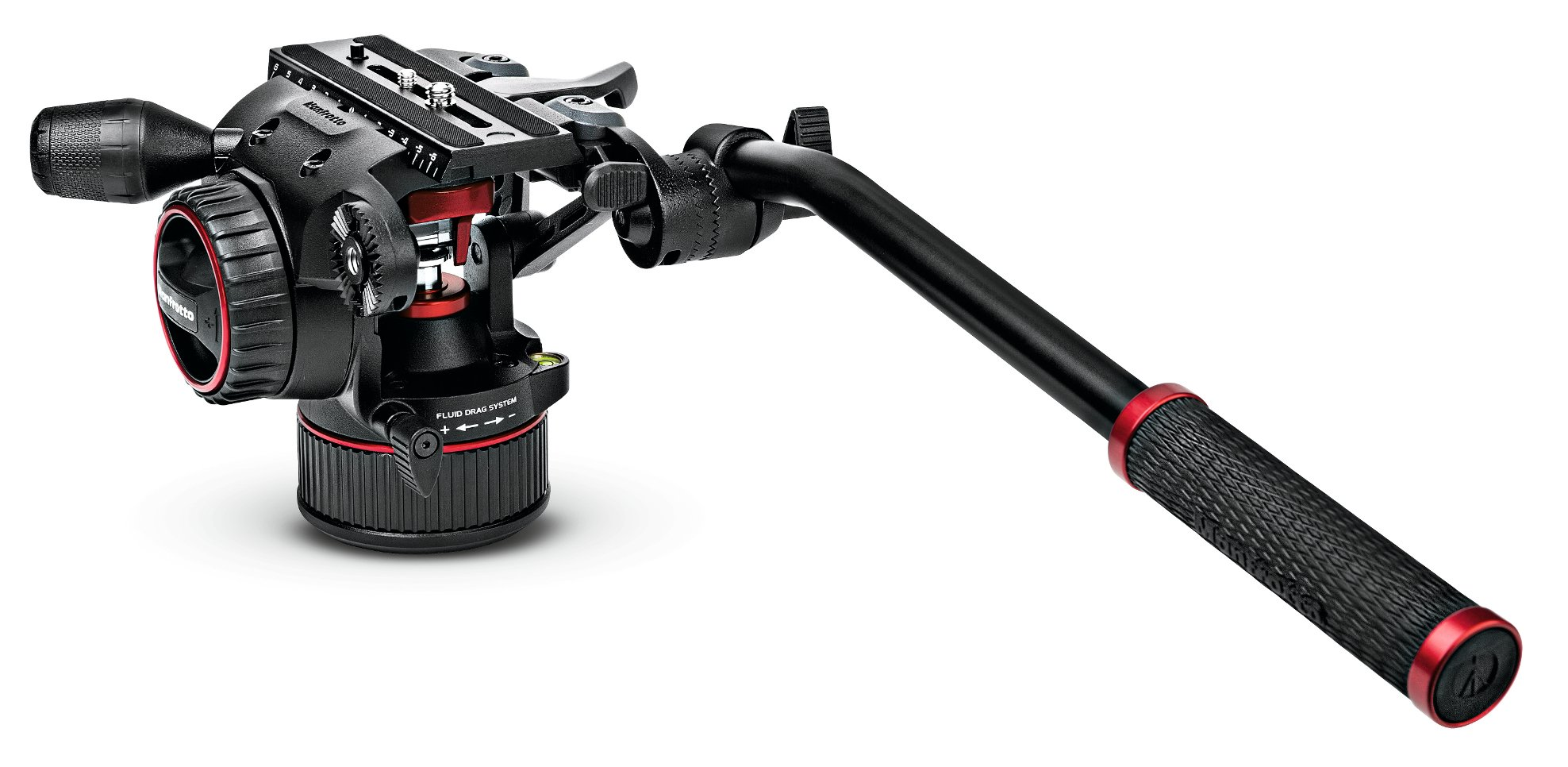 Manfrotto Nitrotech N8 & 535 Tripod Fluid Video Head and Carbon Fiber Video Tripod Kit MVKN8CUS