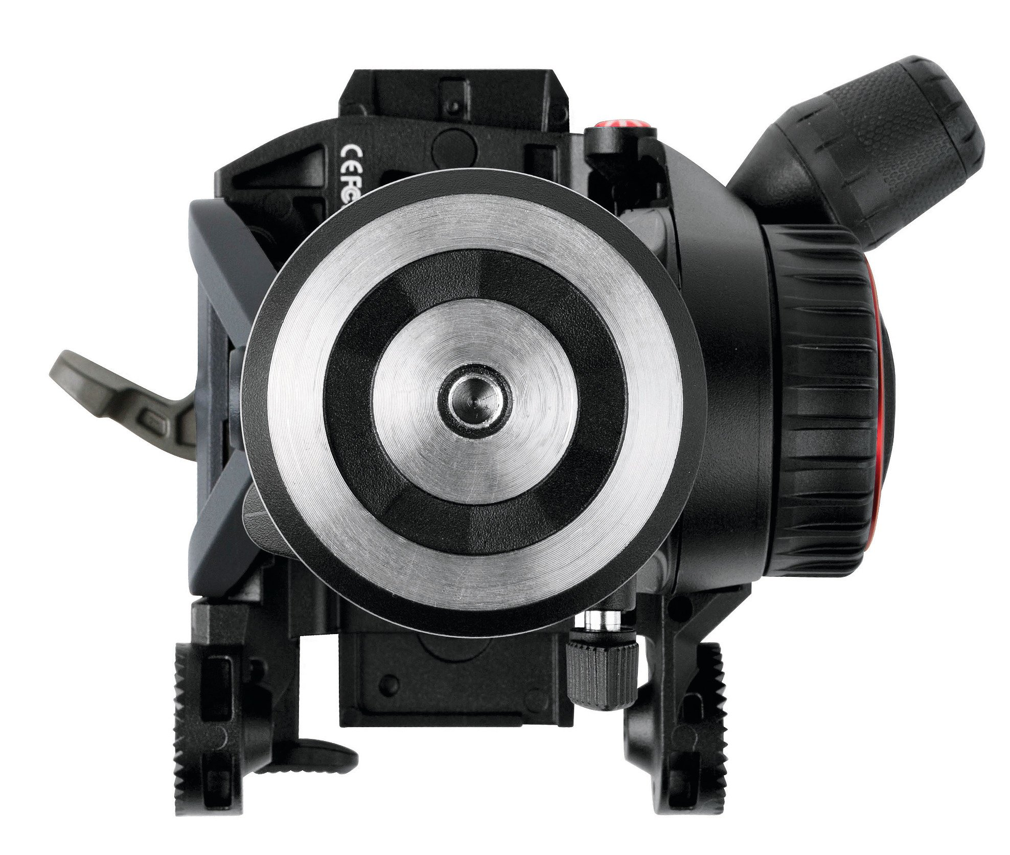 Video Fluid Head and Aluminum Tripod Kit