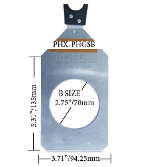 B Size Gobo Holder