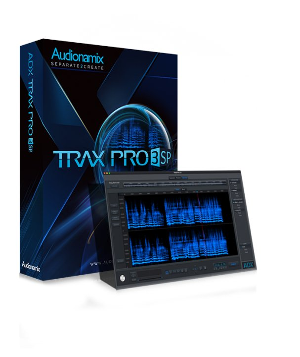Audionamix TRAX Pro 3 SP [DOWNLOAD] Speech Separation and Spectral Editing Software TRAX-PRO-SP