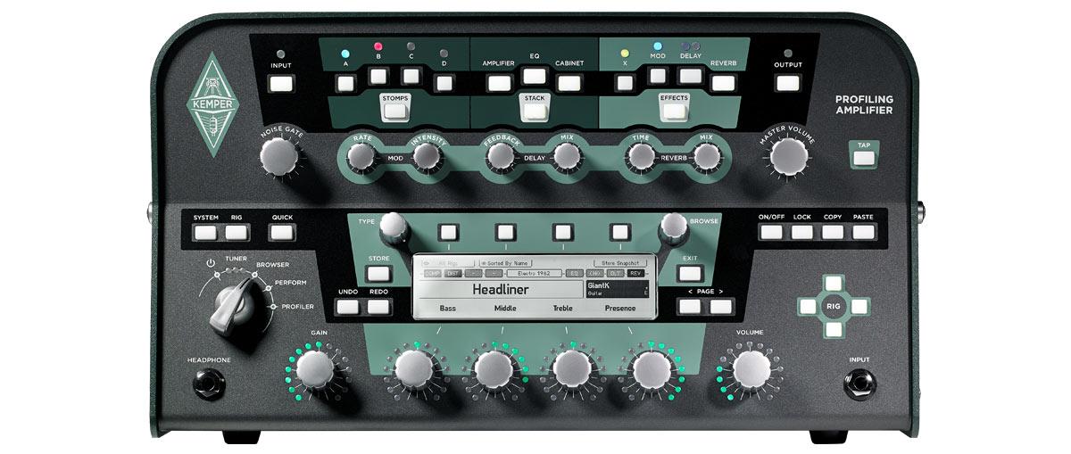 600W Profiling Guitar Amplifier Head