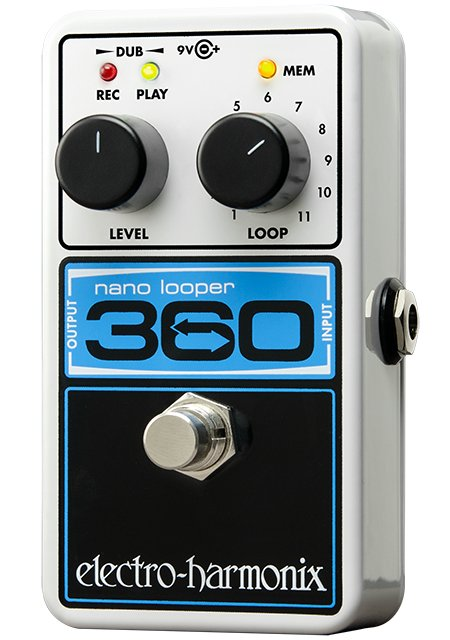 Compact Looper Effects Pedal