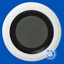 "Round Recessed Grill for 6"" Strategy Speakers"