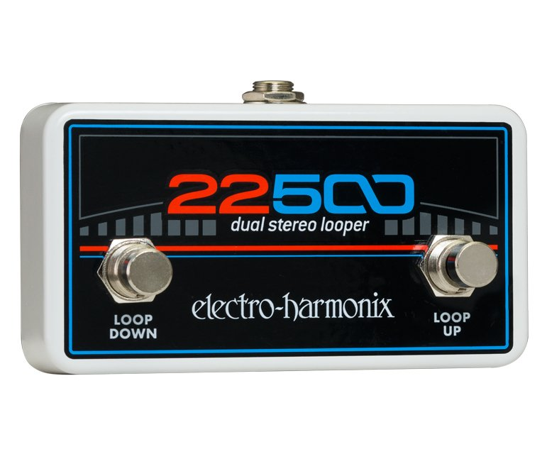 Electro-Harmonix 22500-Looper-Control Foot Controller for 22500 Dual Stereo Looper 22500-Looper-Control