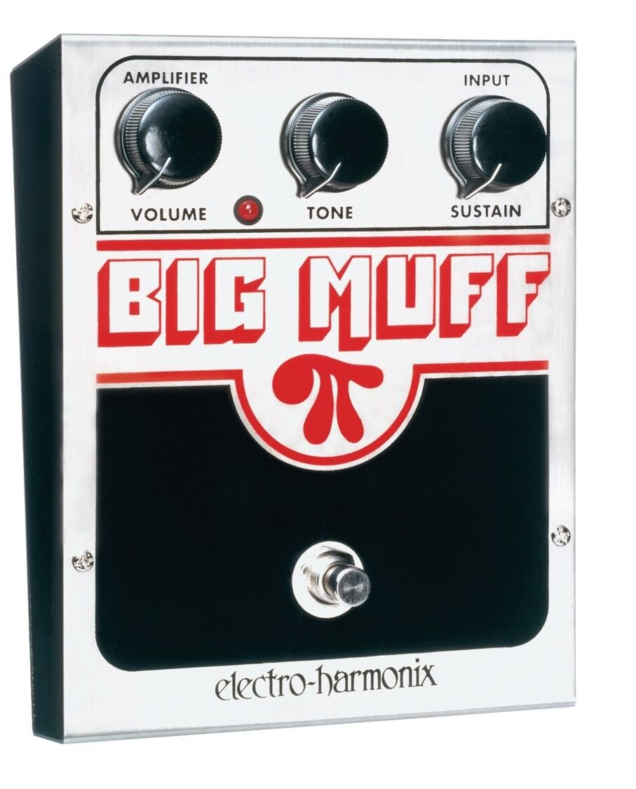 Electro-Harmonix Big Muff Pi Distortion/Sustainer Pedal BIG-MUFF-PI