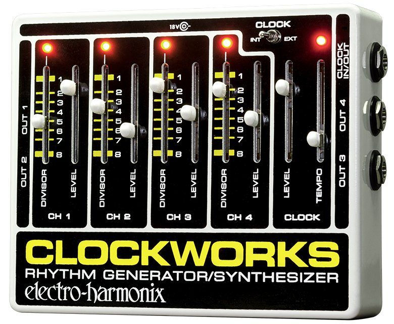 Master Clock Generator Effects Pedal