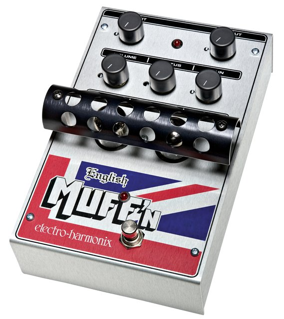 Tube Distortion/Preamp Pedal, PSU Included
