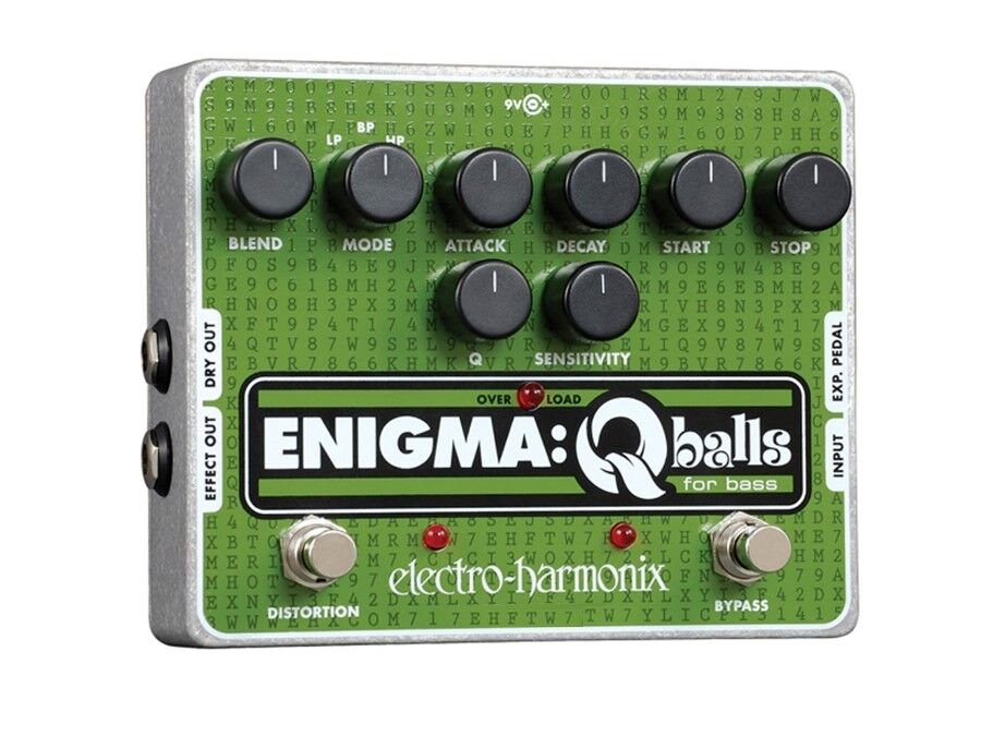 Envelope Filter Pedal for Bass, PSU Included