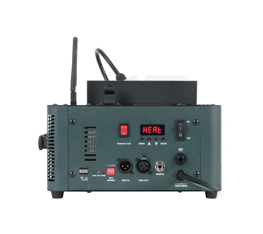 1450W Vertical Fogger with Wireless Remote & Fluid Indicator