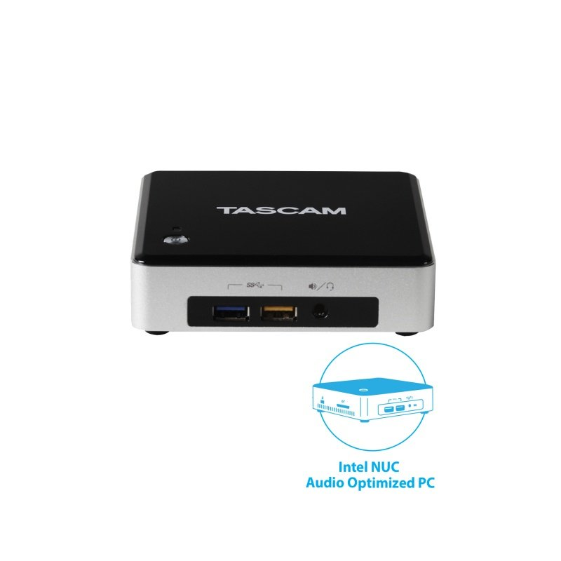 Intel NUC PC with Sonar Pro, US-2X2TP USB Interface, TM-80 Mic, and TH-02 Headphones