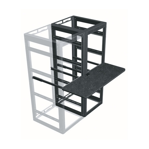 """Middle Atlantic Products WS2-M31-18  2-Bay 18"""" Deep Writing Shelf for 31"""" Deep MRK and VRK Racks WS2-M31-18"""