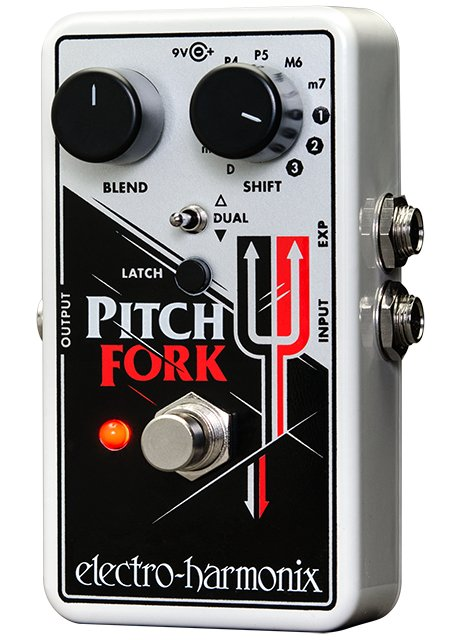 Polyphonic Pitch Shifter Effects Pedal