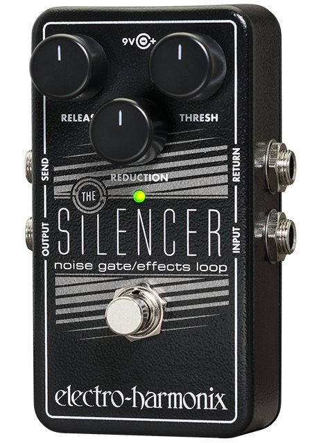 electro harmonix silencer noise gate effects loop guitar pedal full compass. Black Bedroom Furniture Sets. Home Design Ideas