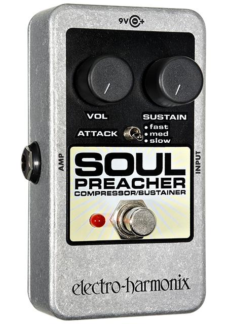 Electro-Harmonix SOUL PREACHER Compressor/Sustainer Pedal SOULPREACHER