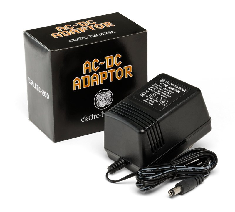 Electro-Harmonix US9.6V AC - DC Adapter US9.6DC-200 Power Supply US9.6DC-200
