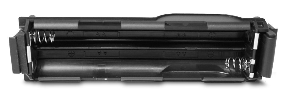 Battery Sled, Holds Four AA Batteries