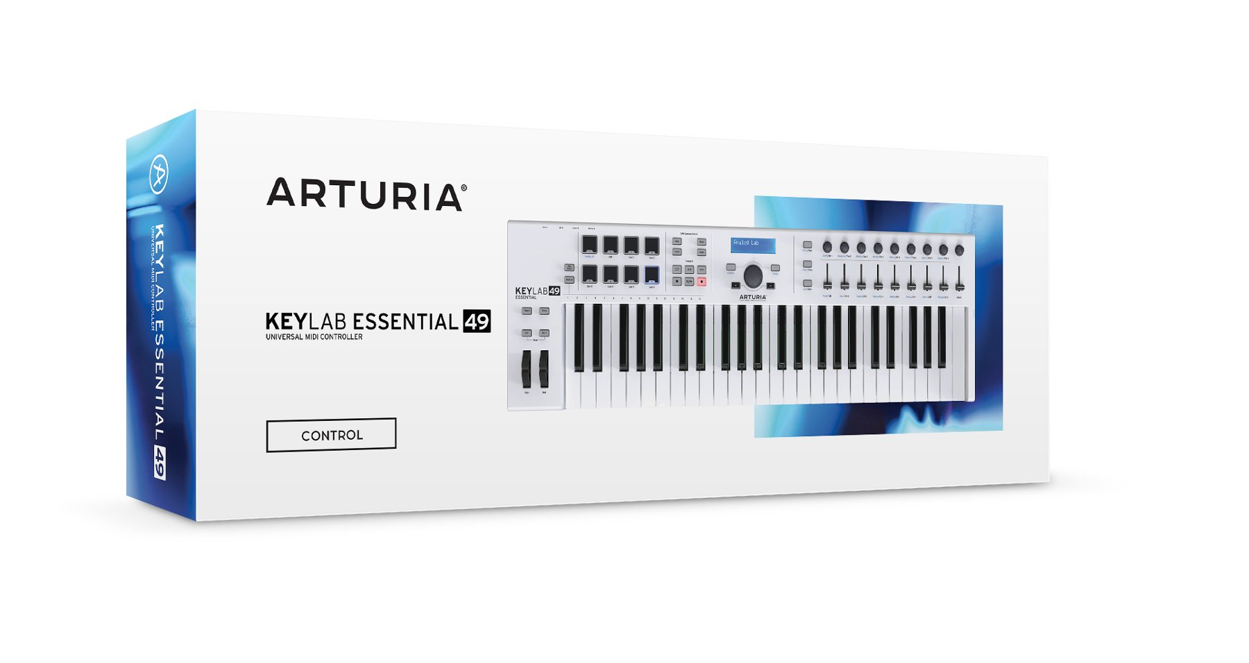 49-key Universal MIDI Controller with Software