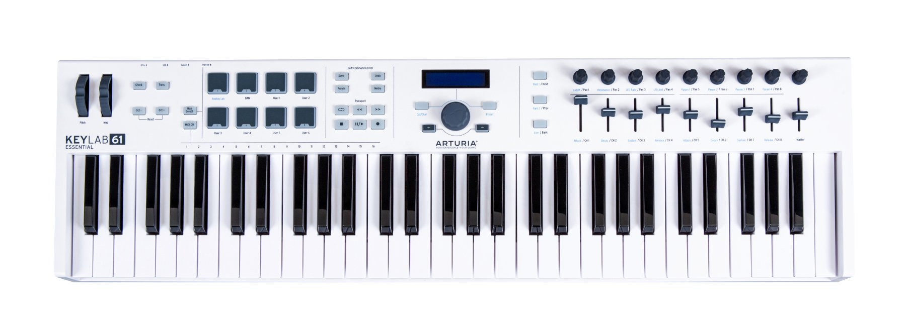 61-key Universal MIDI Controller with Software