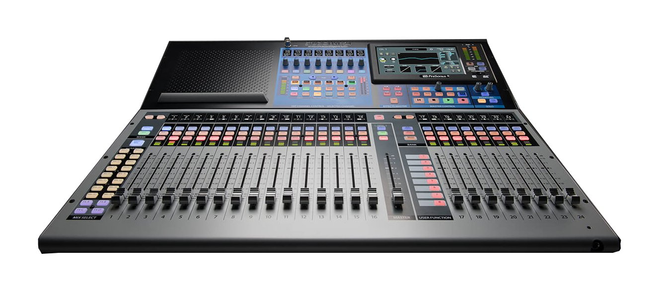 32-Input Digital Console/Recorder with Motorized Faders