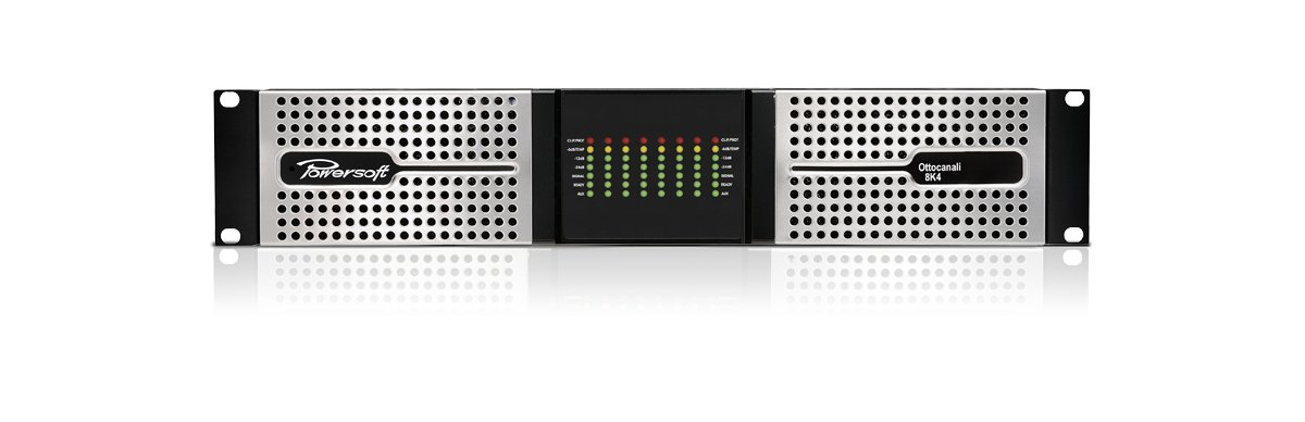 8-Channel Power Amplifier for Lo-Z and Hi-Z Transducers