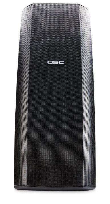 "8"" AcousticDesign 2-Way High Output Surface Mount Speaker in Black"