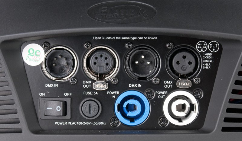 240W DMX LED Fixture