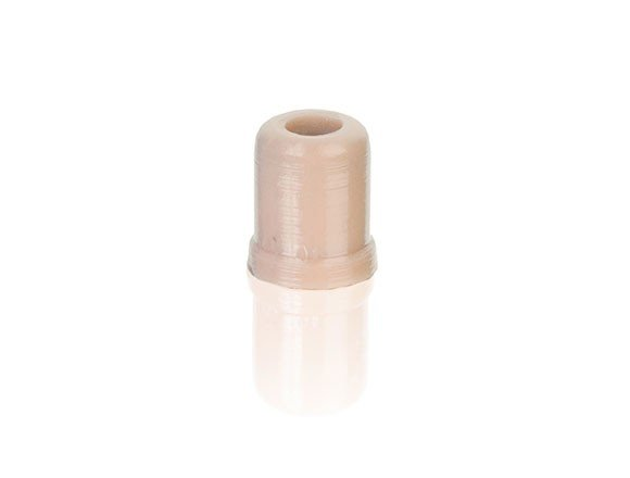 Protective Cap with Flat High-Frequency Response in Light Beige