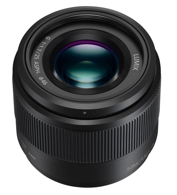 25mm, F1.7 ASPH., Micro Four Thirds LUMIX G Lens