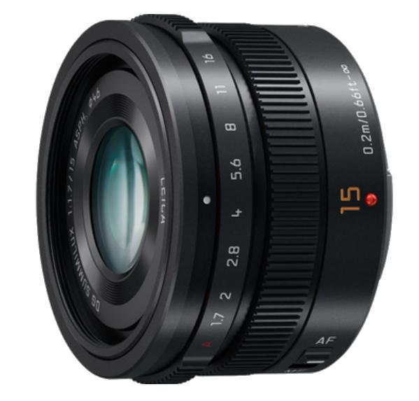 15mm, F1.7 ASPH., Professional Micro Four Thirds LUMIX G LEICA DG SUMMILUX Lens