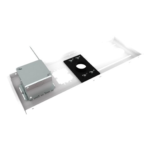 Suspended Ceiling Projector Mount Kit with Power Outlet Housing