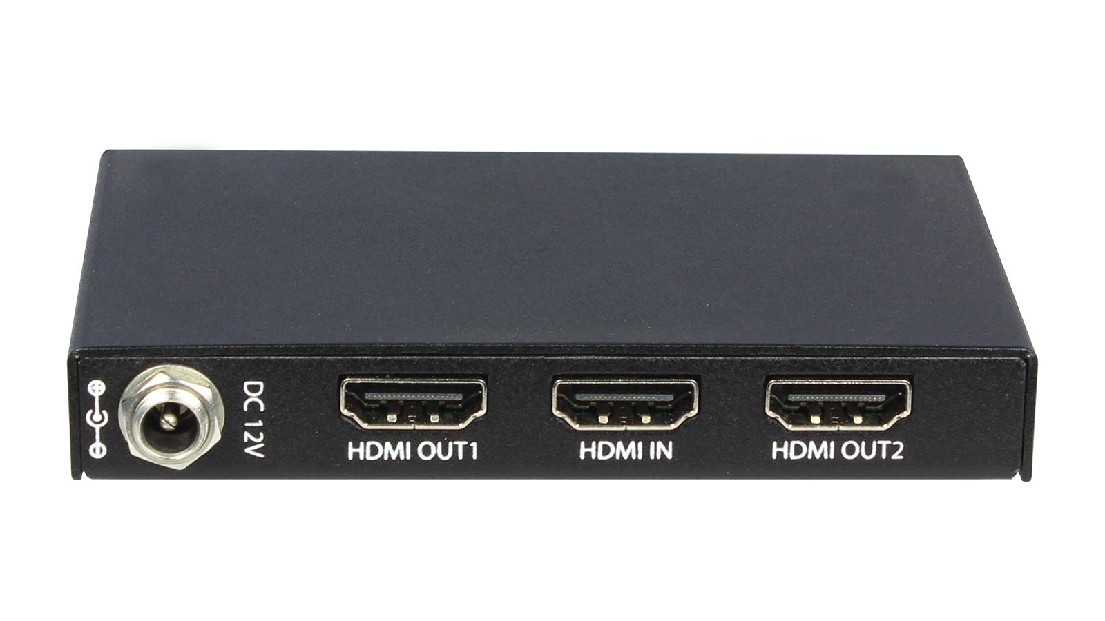 1x2 Slim HDMI Distribution Amplifier