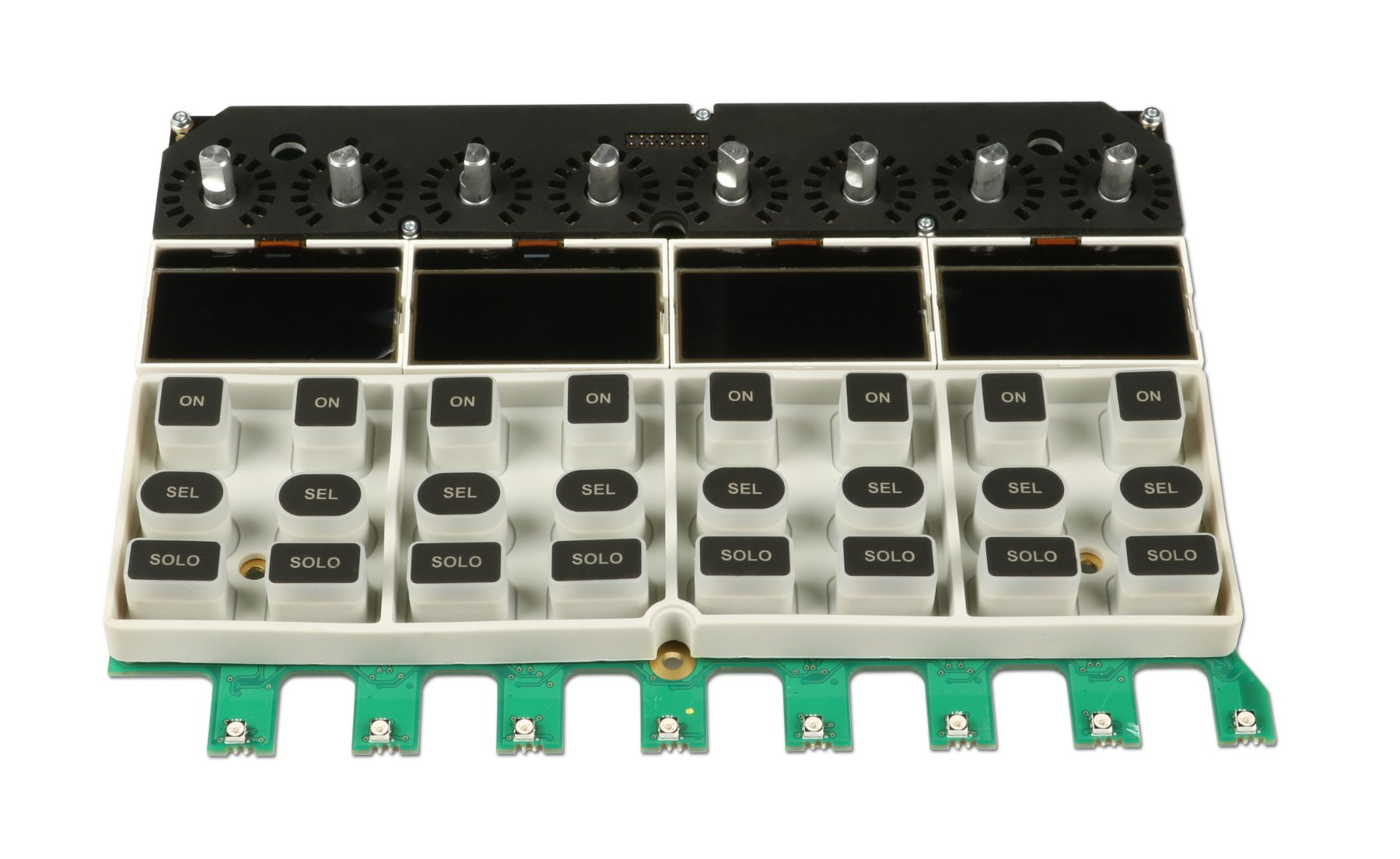 8-Channel Fader PCB for Si Performer 3